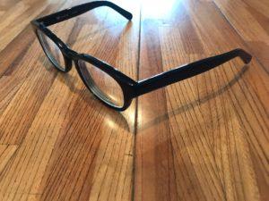 度付きのメガネ