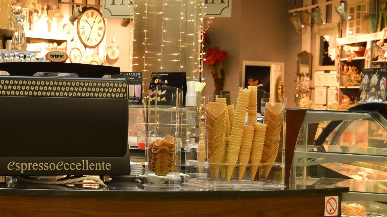 アイスのお店